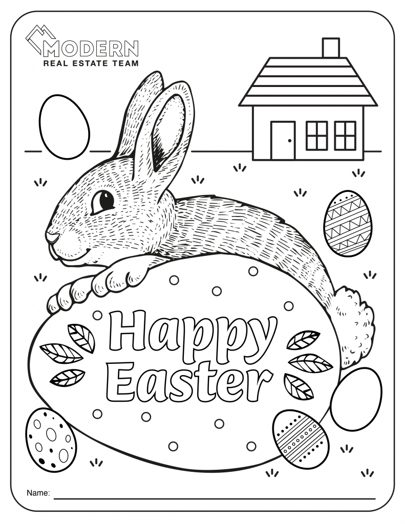 Modern Real Estate Team Colouring Contest Image